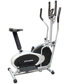 DTX Fitness 2 in 1 Elliptical Cross Trainer