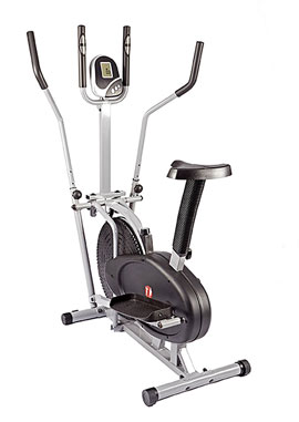 Hi-Performance 2 in 1 Elliptical Cross Trainer