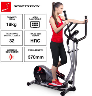 Sportstech CX610 professional crosstrainer