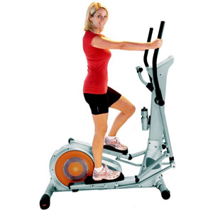 FRONTIER Olympus Max Long Stride Cross Trainer workout