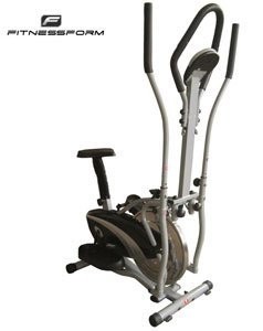 Fitnessform 2-In-1 Elliptical Cross Trainer