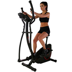 Viavito Setry 2-in-1 Elliptical Trainer and Exercise Bike